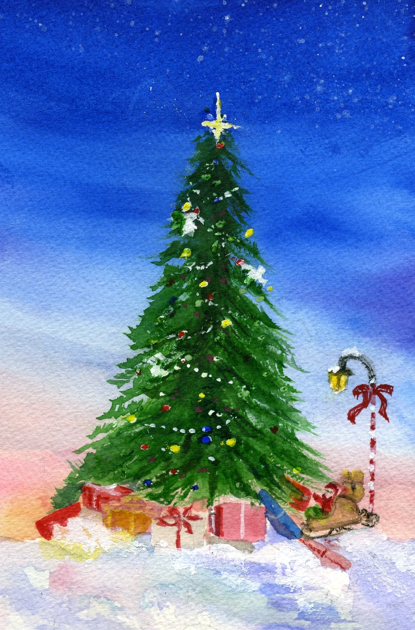 Paint Christmas Tree