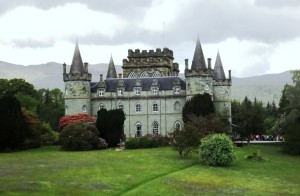 CASTLE in Scottish highlands - Paula 2