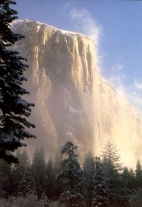 EL CAP in Winter color cprt