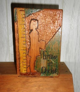 Grow in Christ Bookends from Guymon