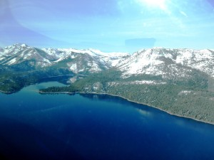 TAHOE - above emerald Bay